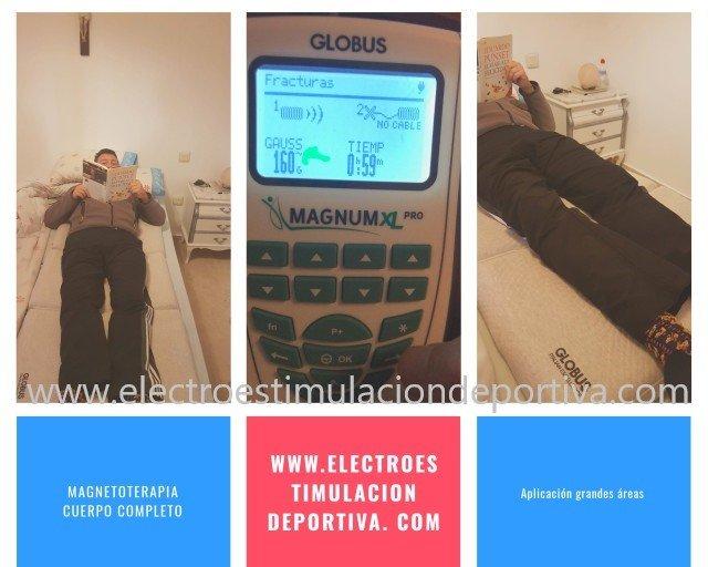 colchoneta globus y magnetoterapia para dormir, artritis, fibromialgia